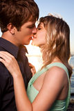 Ρομαντικό ζεύγος ερωτευμένο στοκ φωτογραφίες με δικαίωμα ελεύθερης χρήσης