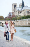 Ρομαντικό ζεύγος στο Παρίσι Στοκ Φωτογραφία