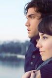 Ρομαντικό ζεύγος Στοκ Εικόνες