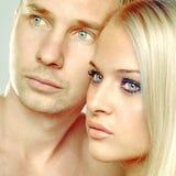 Ρομαντικό ζεύγος Στοκ εικόνες με δικαίωμα ελεύθερης χρήσης