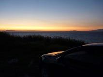 ρομαντικό ηλιοβασίλεμα Στοκ Εικόνα