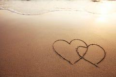 ρομαντικό διάνυσμα απεικόνισης καρτών Στοκ εικόνα με δικαίωμα ελεύθερης χρήσης