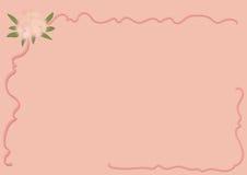 ρομαντικό διάνυσμα απεικόνισης καρτών Στοκ φωτογραφίες με δικαίωμα ελεύθερης χρήσης