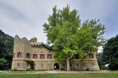 Ρομαντικό κάστρο Januv καταστροφών hrad Στοκ Εικόνα