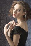 Ρομαντικό κορίτσι στοκ φωτογραφία