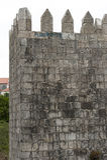 Ρομαντικό μήνυμα στο ρητό τοίχων φρουρίων - Ι adore youin πορτογαλικά Στοκ Εικόνες