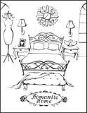 Ρομαντικό σπίτι Στοκ εικόνα με δικαίωμα ελεύθερης χρήσης