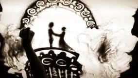 ρομαντικό ταξίδι απόθεμα βίντεο
