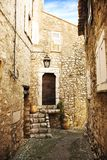ρομαντικό χωριό οδών στοκ φωτογραφία με δικαίωμα ελεύθερης χρήσης