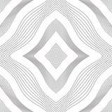 Ρομβική σύσταση των γραμμών περιγράμματος Στοκ Εικόνες