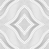 Ρομβική σύσταση των γραμμών περιγράμματος Στοκ εικόνα με δικαίωμα ελεύθερης χρήσης