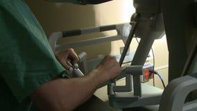 Ρομποτική αποκοπή της μήτρας (6 15) απόθεμα βίντεο