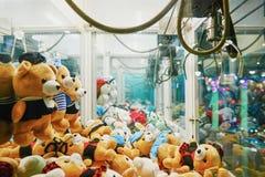 Ρομποτική μηχανή παιχνιδιών νυχιών Arcade Στοκ Φωτογραφίες