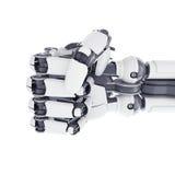Ρομποτική πυγμή ελεύθερη απεικόνιση δικαιώματος