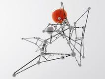 Ρομποτικοί κόμβοι Στοκ φωτογραφίες με δικαίωμα ελεύθερης χρήσης