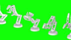 Ρομποτικός βραχίονας τρισδιάστατος ελεύθερη απεικόνιση δικαιώματος