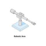 Ρομποτικός βραχίονας Στοκ Εικόνες
