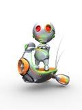 ρομποτικό μηχανικό δίκυκλ Στοκ φωτογραφία με δικαίωμα ελεύθερης χρήσης