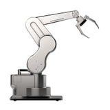 Ρομποτικό χέρι βραχιόνων ή ρομπότ Στοκ Φωτογραφίες