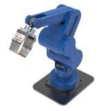 Ρομποτικό χέρι βραχιόνων ή ρομπότ Στοκ φωτογραφία με δικαίωμα ελεύθερης χρήσης