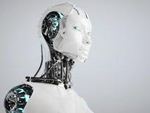 Ρομπότ αρρενωπό διανυσματική απεικόνιση