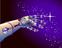 ρομπότ βραχιόνων Στοκ φωτογραφία με δικαίωμα ελεύθερης χρήσης
