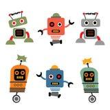 ρομπότ εικονιδίων Στοκ Εικόνα