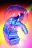 ρομπότ εκμετάλλευσης χεριών βολβών Στοκ Εικόνα