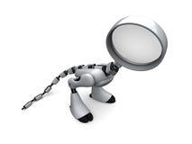 ρομπότ ιδιωτικών αστυνομι Στοκ φωτογραφίες με δικαίωμα ελεύθερης χρήσης