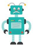 ρομπότ κινούμενων σχεδίων στοκ εικόνα με δικαίωμα ελεύθερης χρήσης