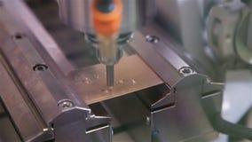 Ρομπότ, κόβοντας σταυρός του χρυσού πιάτου φιλμ μικρού μήκους