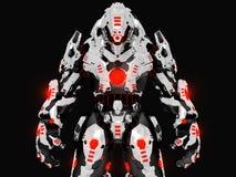 ρομπότ μάχης Στοκ εικόνα με δικαίωμα ελεύθερης χρήσης