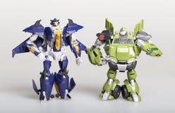 Ρομπότ μετασχηματιστών παιχνιδιών Στοκ Εικόνα