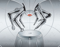 ρομπότ οικοδόμων Στοκ φωτογραφία με δικαίωμα ελεύθερης χρήσης