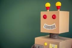 Ρομπότ παιχνιδιών στο σχολείο Στοκ Εικόνες