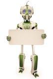 ρομπότ πινάκων διαφημίσεων Στοκ Εικόνα
