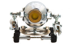 Ρομπότ που απομονώνεται στο λευκό. Στοκ φωτογραφίες με δικαίωμα ελεύθερης χρήσης
