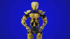 Ρομπότ που κάνει έναν ρόλο βραχιόνων φιλμ μικρού μήκους