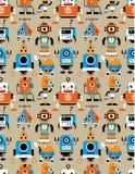 ρομπότ προτύπων άνευ ραφής Στοκ εικόνες με δικαίωμα ελεύθερης χρήσης