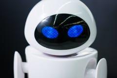 Ρομπότ στην πόλη exhebition των ρομπότ Στοκ Εικόνες