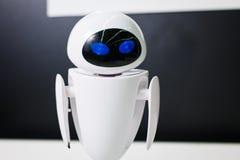 Ρομπότ στην πόλη exhebition των ρομπότ Στοκ φωτογραφίες με δικαίωμα ελεύθερης χρήσης