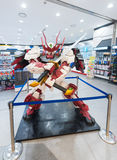 Ρομπότ στο κατάστημα βάσεων Gundam, Σεούλ Στοκ φωτογραφία με δικαίωμα ελεύθερης χρήσης