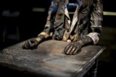 Ρομπότ συγγραφέων Στοκ Φωτογραφίες