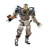 Ρομπότ φαντασίας ελεύθερη απεικόνιση δικαιώματος