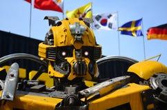 Ρομπότ φιαγμένο από μέρη αυτοκινήτων Στοκ φωτογραφία με δικαίωμα ελεύθερης χρήσης