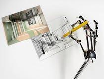 ρομπότ χεριών Στοκ εικόνες με δικαίωμα ελεύθερης χρήσης