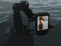 ρομπότ ψευτοπαλλικαράδ&ome Στοκ φωτογραφία με δικαίωμα ελεύθερης χρήσης