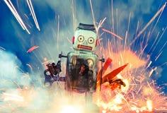 Ρομπότ Στοκ φωτογραφίες με δικαίωμα ελεύθερης χρήσης