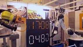 Ρομπότ απόθεμα βίντεο