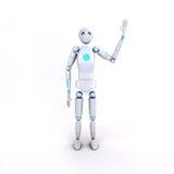 Ρομπότ 6 Στοκ φωτογραφίες με δικαίωμα ελεύθερης χρήσης